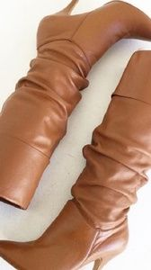 Shoes - Almost knee high boots size